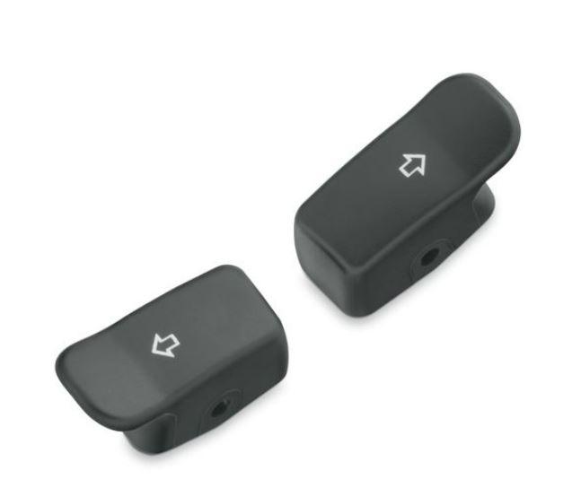 Harley-Davidson® Black Turn Signal Extension Caps