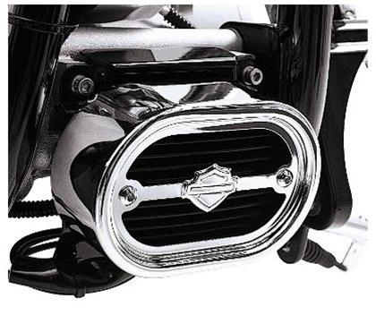 Harley-Davidson® Voltage Regulator Cover   Chrome
