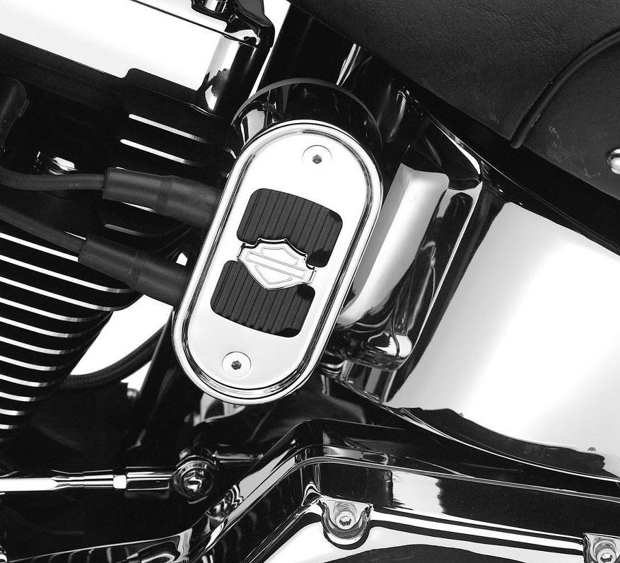Harley-Davidson® Bar & Shield Logo Coil Cover