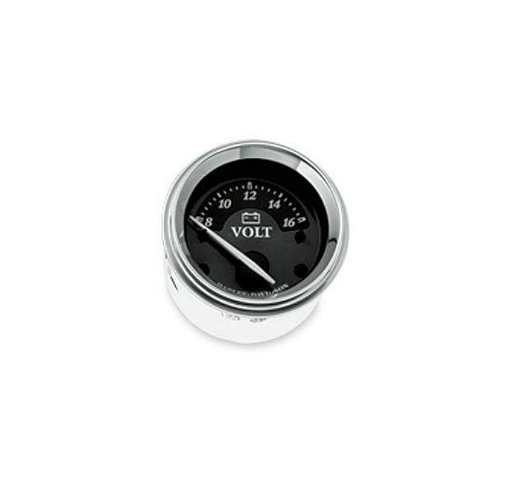 Harley-Davidson® Voltmeter | Titanium Face