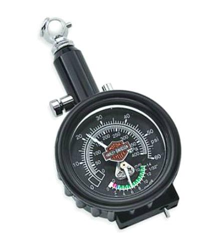 Harley-Davidson® Compact Tire Gauge and Tread Depth Indicator
