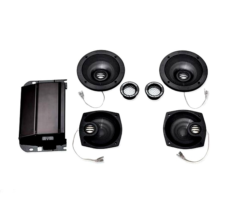 Harley-Davidson® Boom!™ Audio Ultra Boom!™ Bagger Amp & 4 Speaker Kit