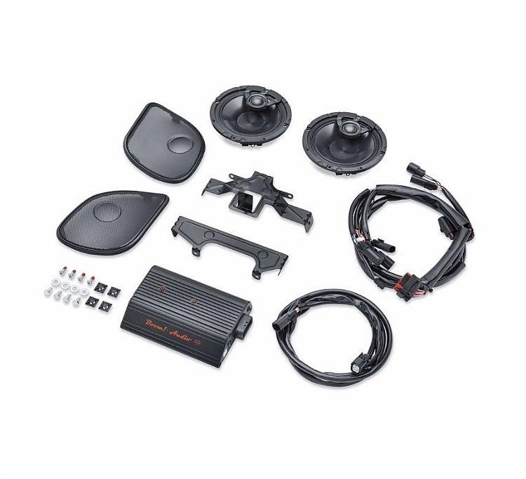 Harley-Davidson® Boom! Audio Stage I Bagger Amp and Speaker Kit | 2 Speaker | '15-later Road Glide