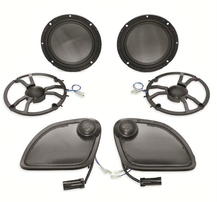 Harley Davidsonreg Boom Audio Stage II 65 Speaker Kit