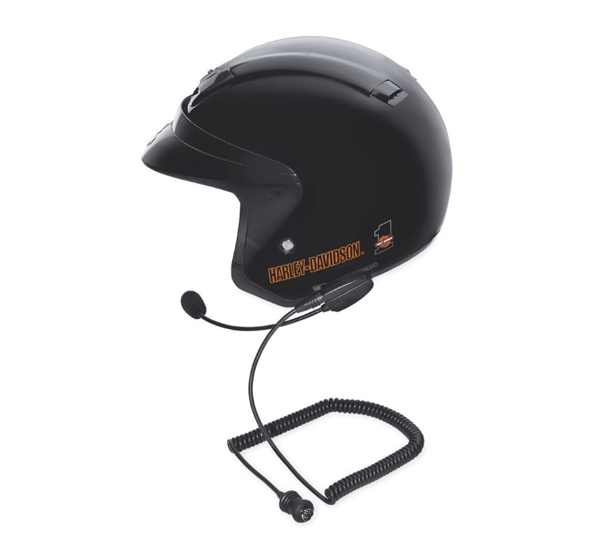 Harley-Davidson® Boom!™ Audio Full Helmet Premium Music and Communications Headset