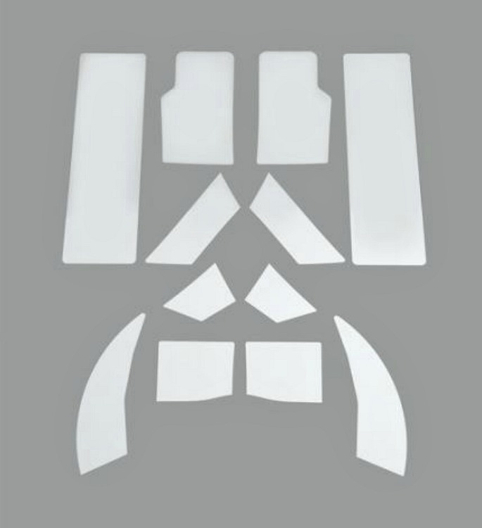 Harley-Davidson® Transparent Paint Guard Kit