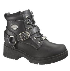 HARLEY-DAVIDSON® FOOTWEAR Women's Tegan Leather Lifestyle Boots