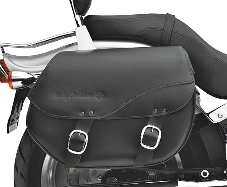 Harley-Davidson® Leather Saddlebags | Detachables™ | Smooth | '06-later