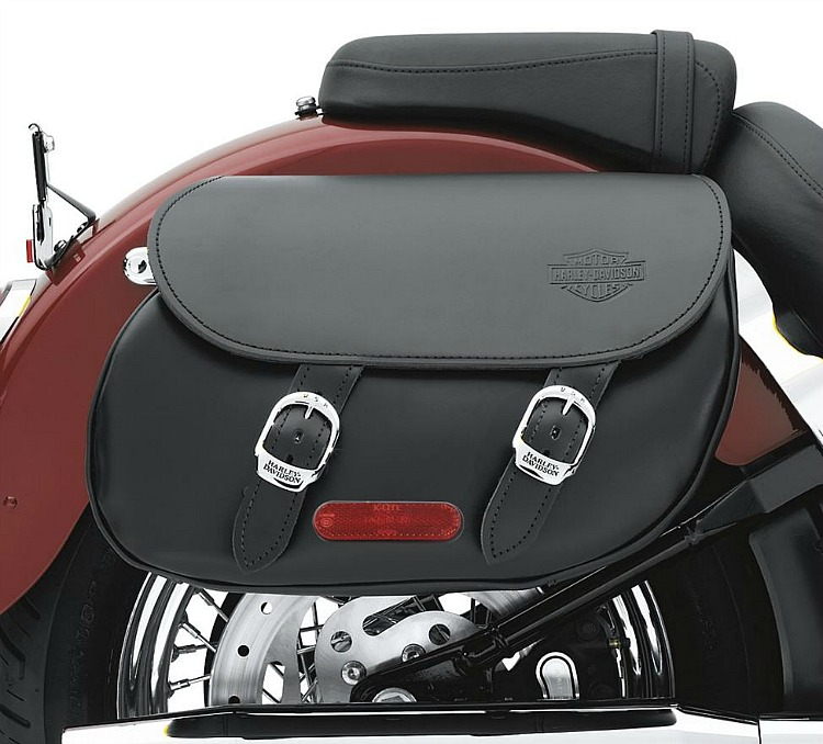 Harley-Davidson® Leather Saddlebags | Smooth | Softail®