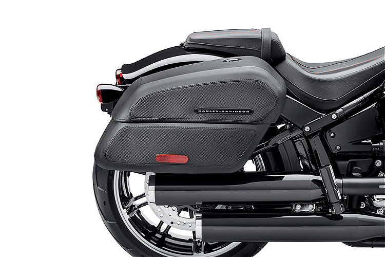 Harley-Davidson® H-D® Detachables™ Locking Saddlebag '18-Later Fat Boy® & Breakout®