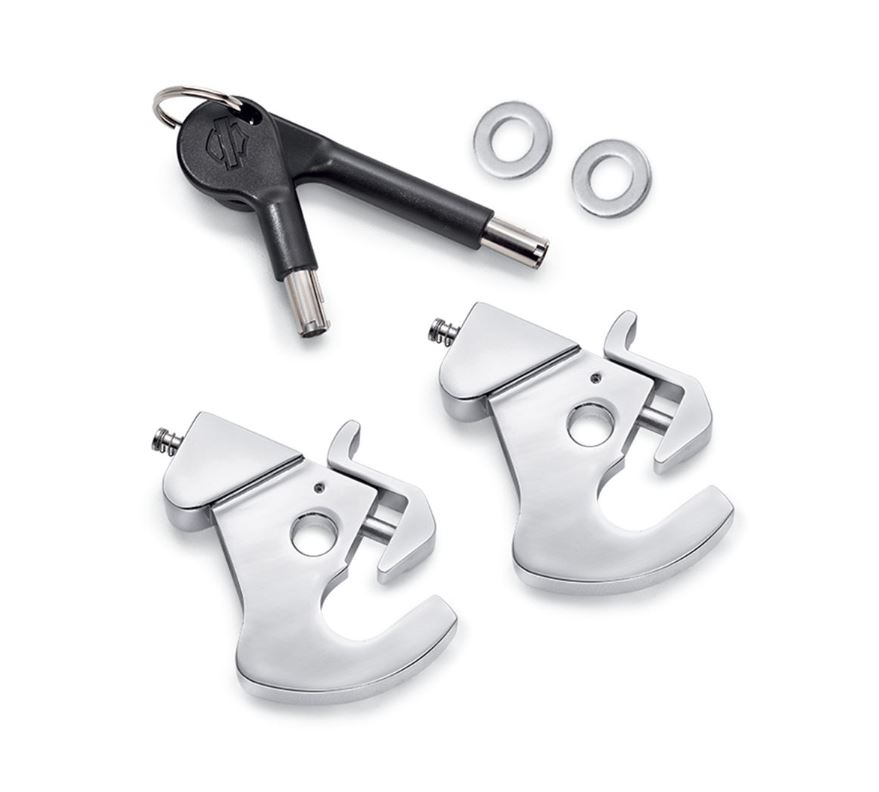 Harley-Davidson® Locking H-D Detachables Latch Kit | Chrome