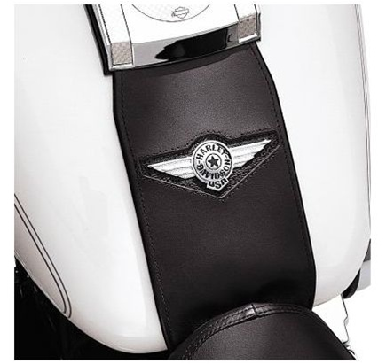 Harley-Davidson® Tank Panel with Fat Boy® Concho 91134-01