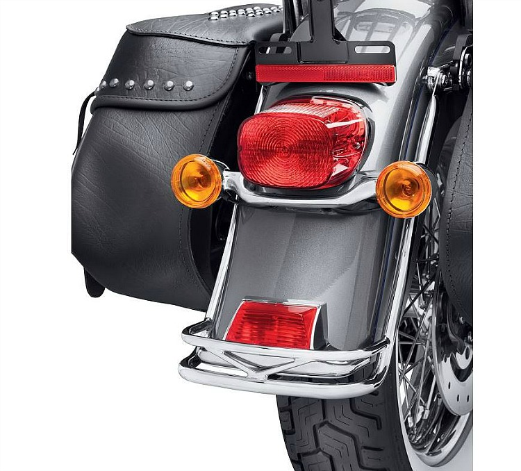 Harley-Davidson® Rear Fender Rail | Heritage | Chrome