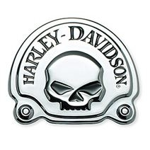 Harley-Davidson® Willie G® Skull Chrome Collection | Decorative Medallion