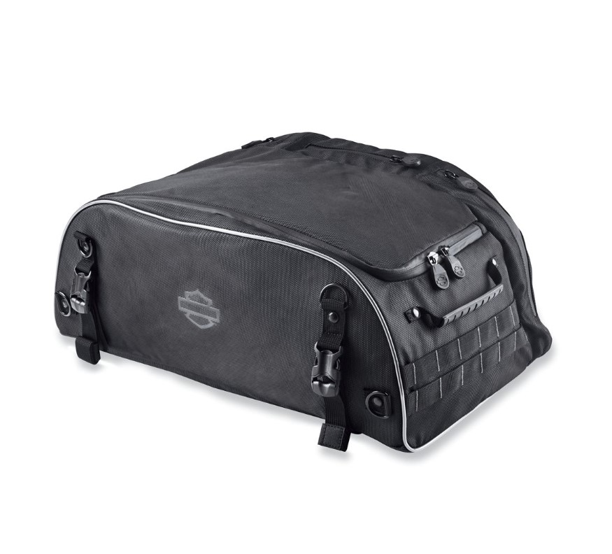 Harley-Davidson® Onyx™ Premium Luggage Collapsible Tour-Pak® Bag