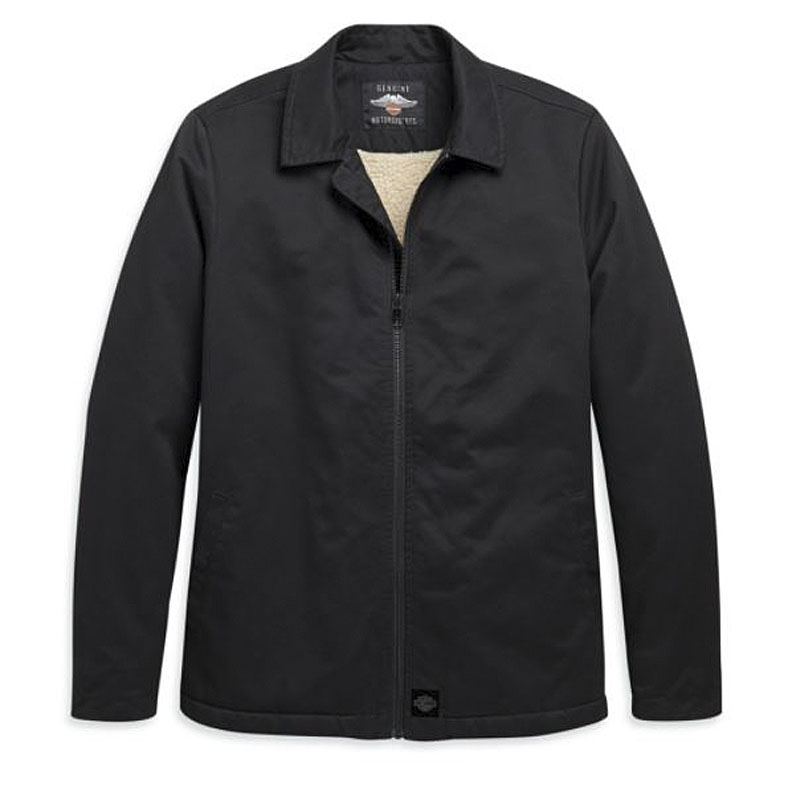 Harley-Davidson® Women's Zip-Front Casual Twill Jacket | Sherpa Lined | Make It Your Own