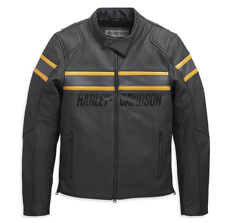 Harley-Davidson® Men's Sidari Leather Riding Jacket | Slim Fit