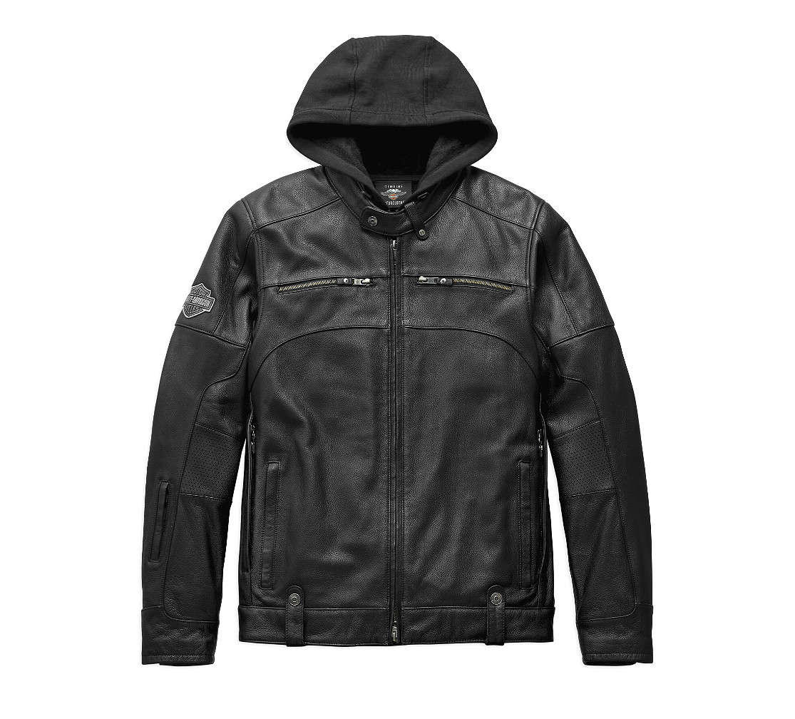 Harley-Davidson® Men's Swingarm 3-in-1 Leather Riding Jacket