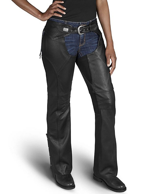Harley-Davidson® Women's Deluxe II Leather Chap