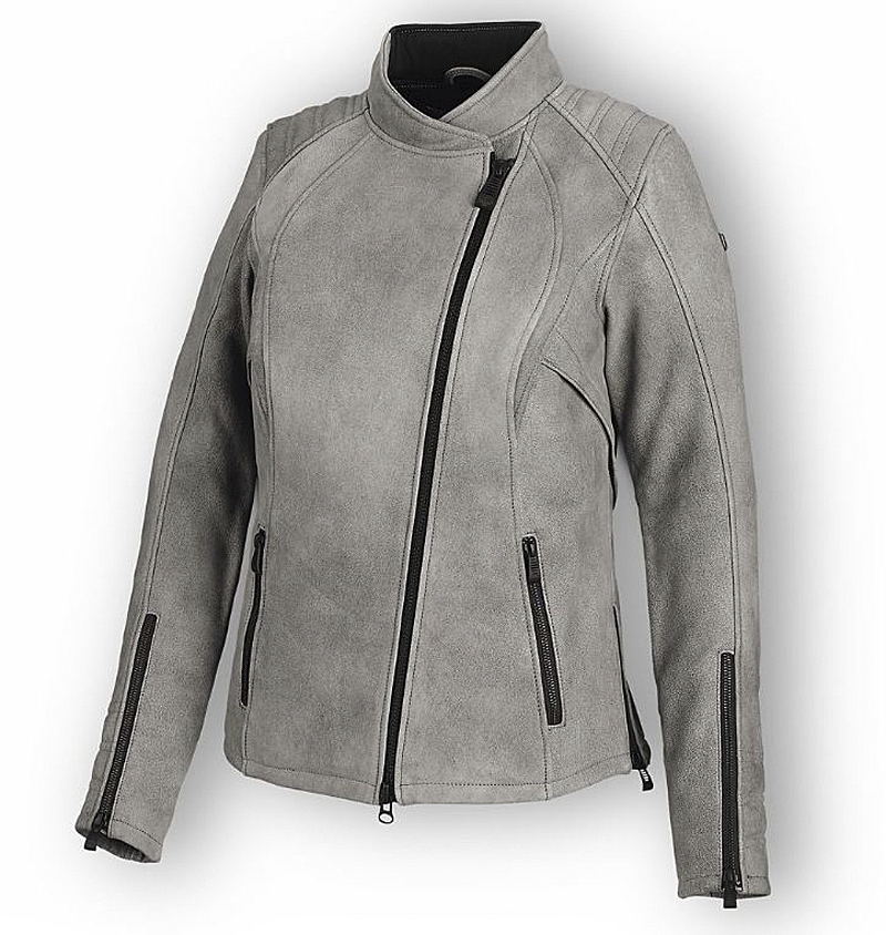 Harley-Davidson® Women's Citified Leather Riding Jacket | CoolCore® Technology