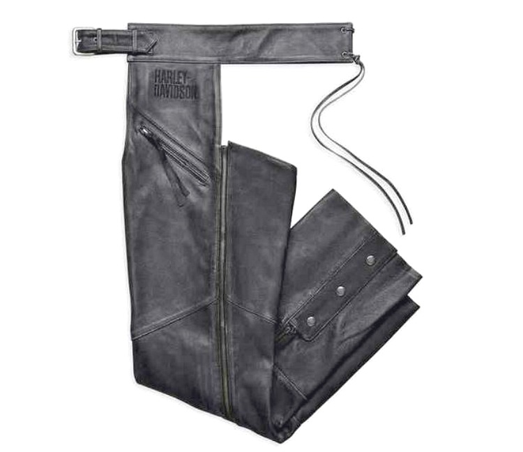 Harley-Davidson® Men's Distressed Leather Chaps