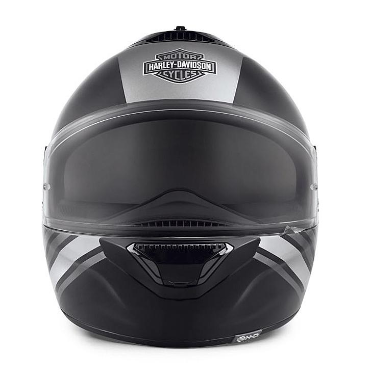 Harley-Davidson® Unisex Vanocker S08 Full-Face Helmet | Dual Spoiler