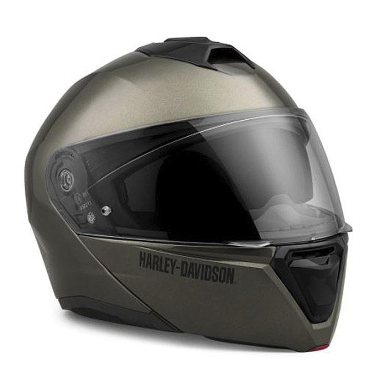 Harley-Davidson® Unisex Capstone Sun Shield II H31 Modular Helmet | Gauntlet Grey