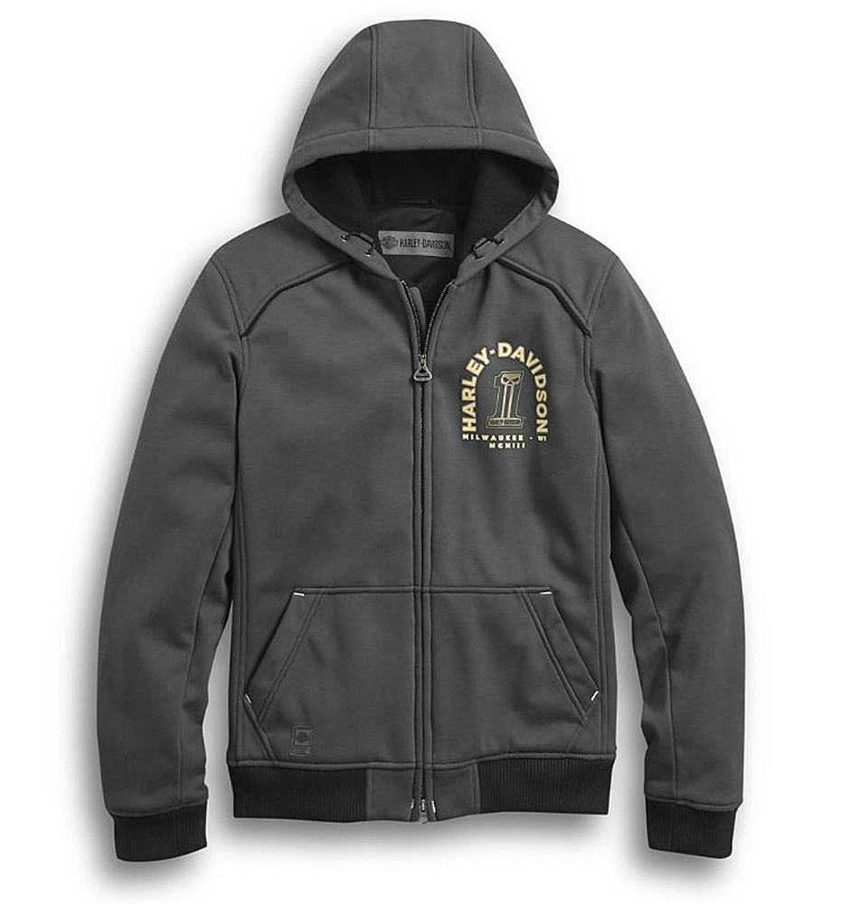 Harley-Davidson® Men's Arterial Windproof Riding Sweatshirt | Abrasion-Resistant