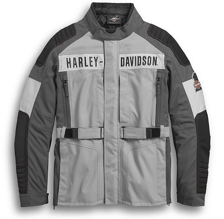 Harley-Davidson® Men's Vanocker Waterproof Textile Riding Jacket | Triple Vent System™