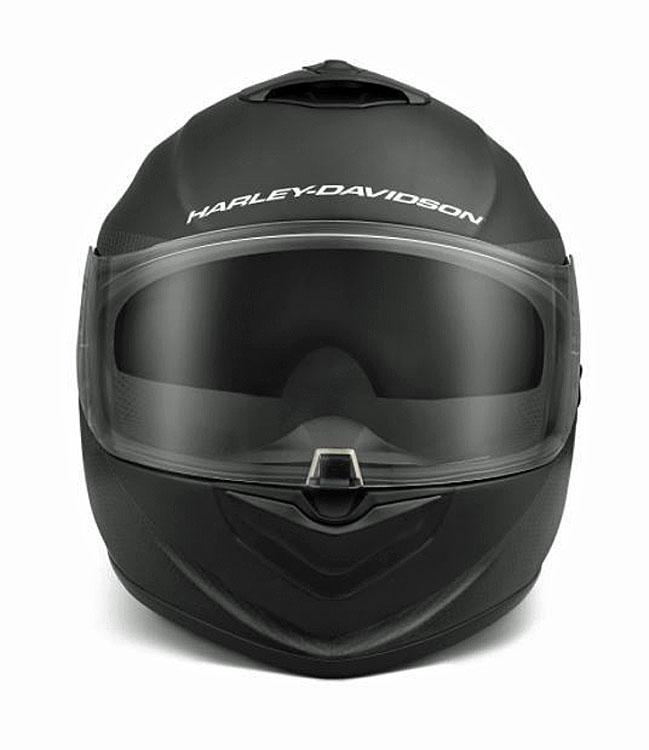 Harley-Davidson® Unisex Brawler Carbon Fiber X09 Full-Face Helmet   Sun Shield