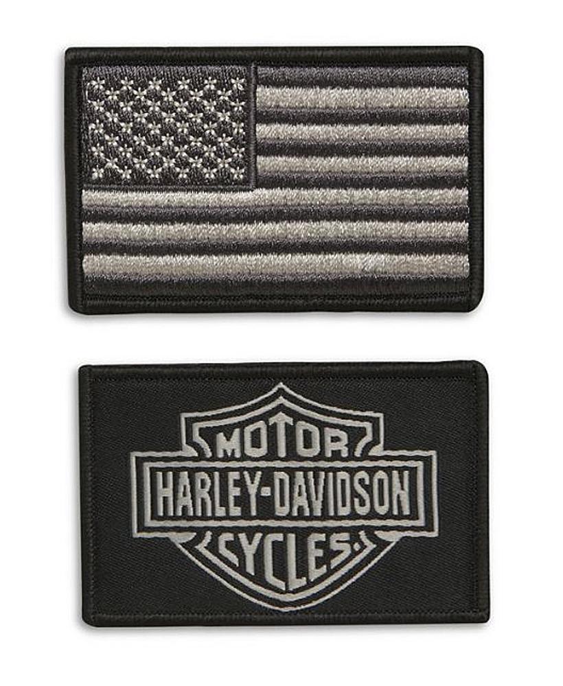 Harley-Davidson® B12 Replacement Patch Set | 2-Piece Set
