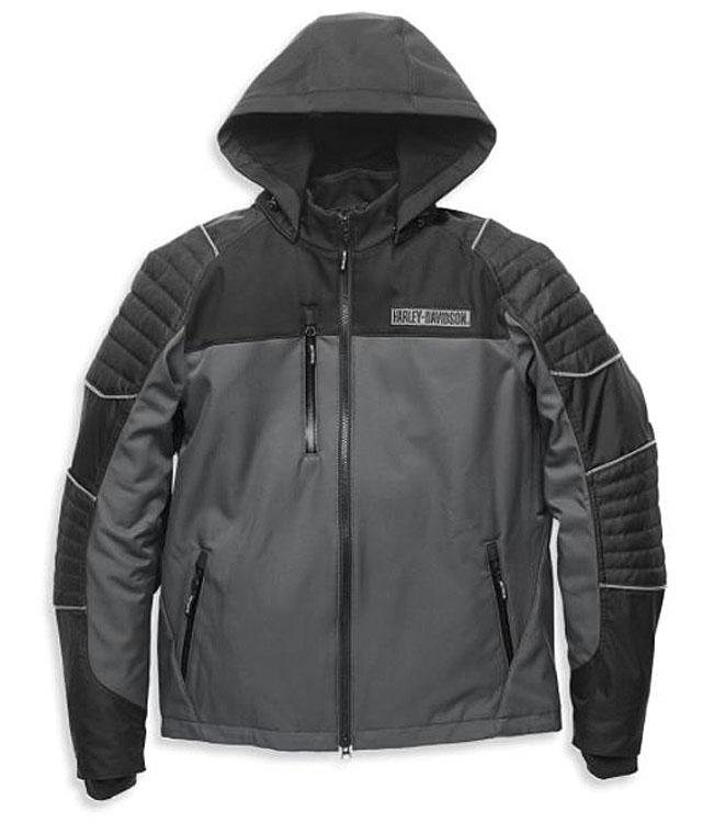 Harley-Davidson® Men's Ridgeway II Waterproof Riding Jacket | Removable Hood