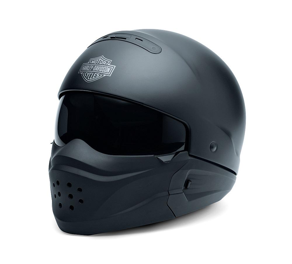Harley-Davidson® Unisex Pilot 3-In-1 X04 Helmet | Matte Black