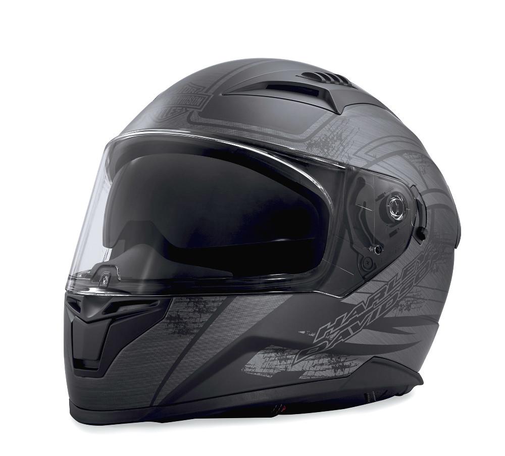 Harley-Davidson® Unisex Metallic Graphic Full-Face Helmet | Sun Shield