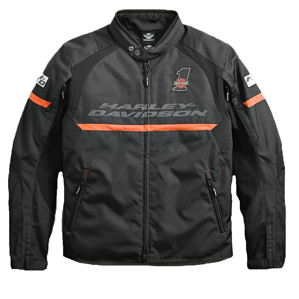 Harley-Davidson® Men's Killian Riding Jacket | Removable Waterproof Liner | Fixed Body Armor