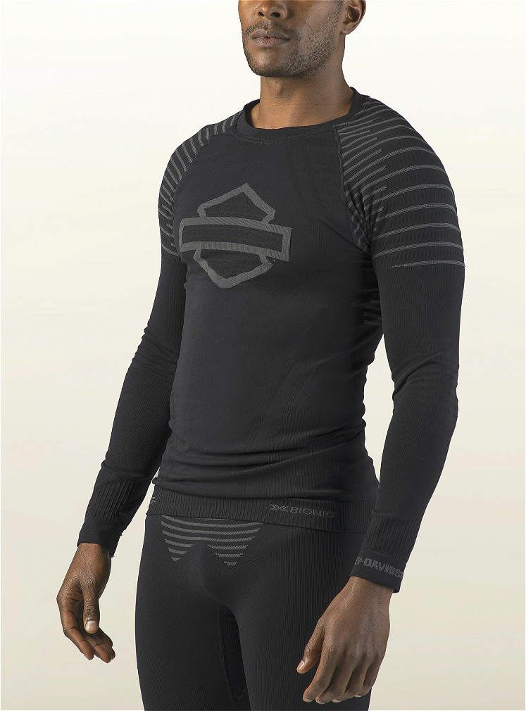 Harley-Davidson® Men's FXRG® Base Layer Tee | X-Bionic® Technology | Long Sleeves