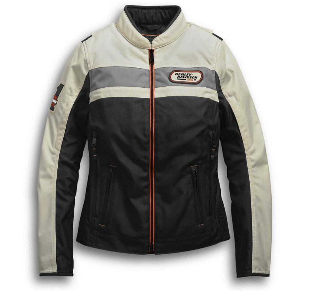 Harley-Davidson® Women's Fennimore Textile Riding Jacket | Removable Vest Liner