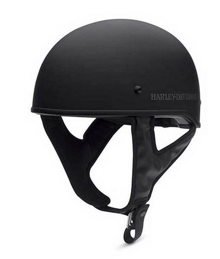 Harley-Davidson® Men's Overdrive Low Profile Half Helmet | Matte Black