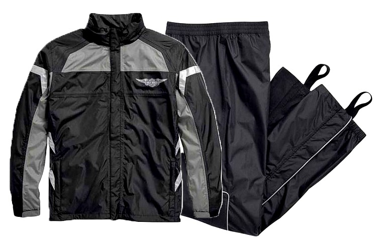 Harley-Davidson® Men's Full Speed Reflective Rain Suit