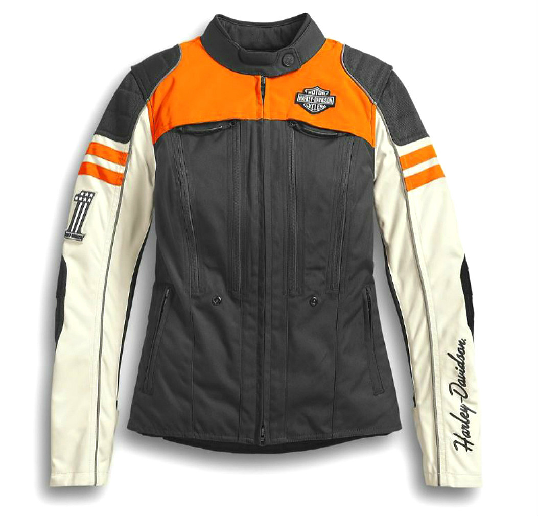 Harley-Davidson® Women's Ardmore Switchback Lite Textile Riding Jacket | CoolCore® Technology