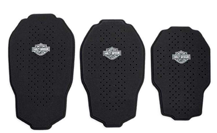 Harley-Davidson® Bar & Shield® Black Tri-Layer 3-D Mesh Back Body Armor