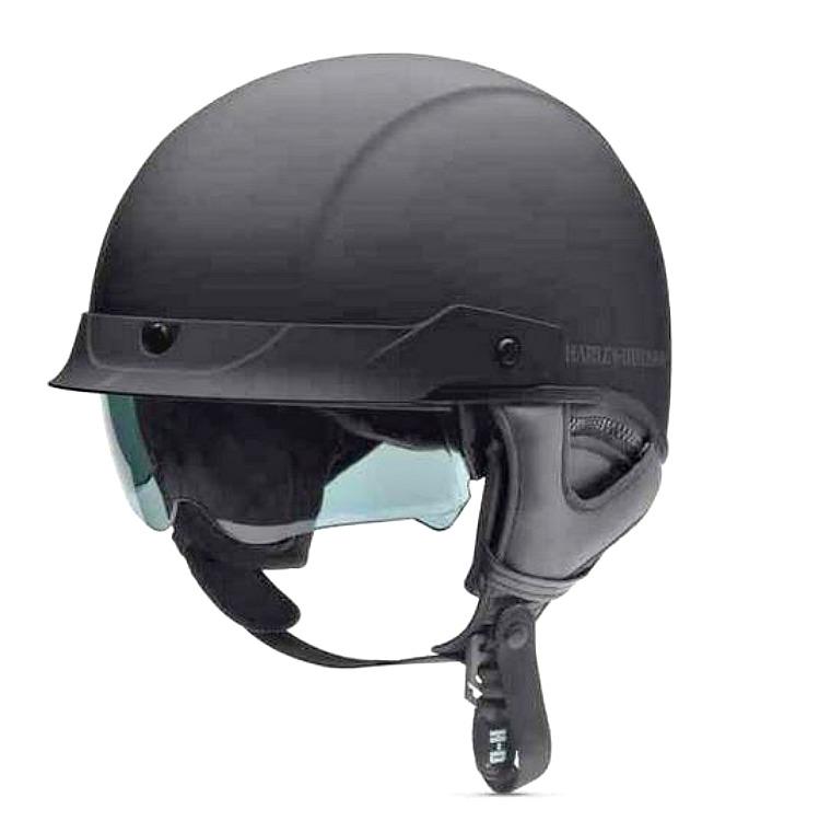 Harley-Davidson® Men's Lucid Ultra-Light Half Helmet | Sun Shield