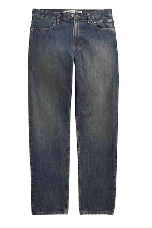 Harley-Davidson® Men's Classic Traditional Fit Jeans in Washed Blue