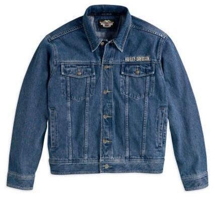 Harley-Davidson® Men's Bar & Shield® Logo Denim Jacket - 99040-08VM/000S