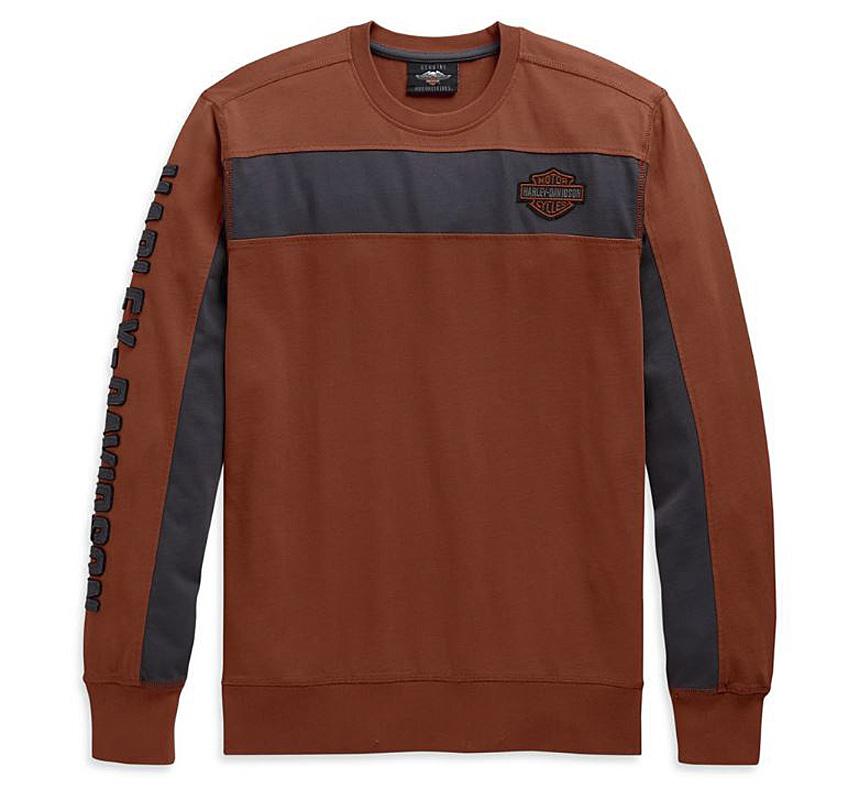 Harley-Davidson® Men's Copperblock T-Shirt | Long Sleeves
