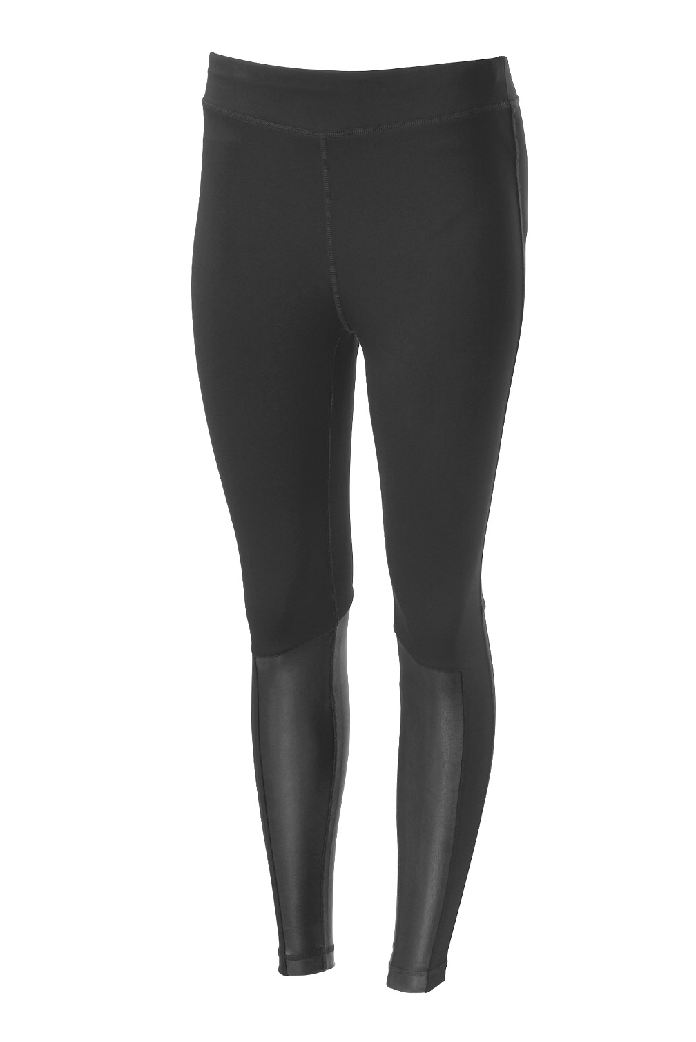 Harley-Davidson® Women's Mid-Rise Activewear Leggings | Leather Accents