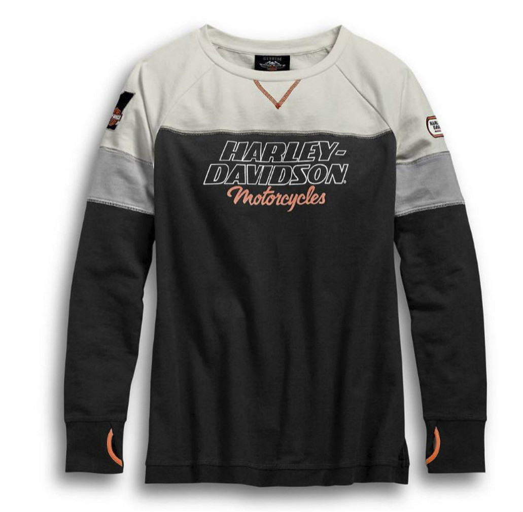 Harley-Davidson® Women's H-D® Racing Pullover | Thumbholes on Cuffs | Long Sleeves