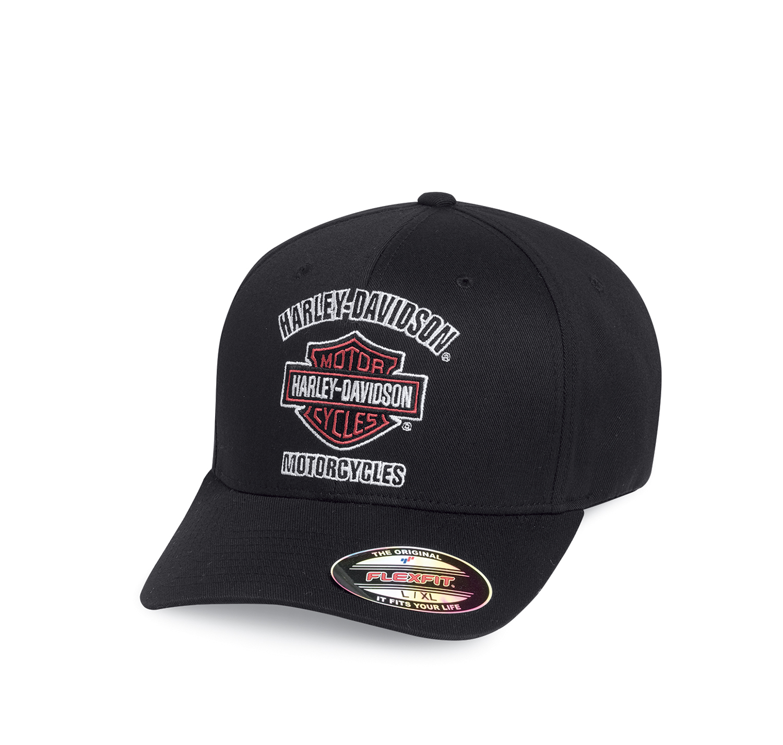Harley-Davidson® Men's Traditional Logo Stretch Cap