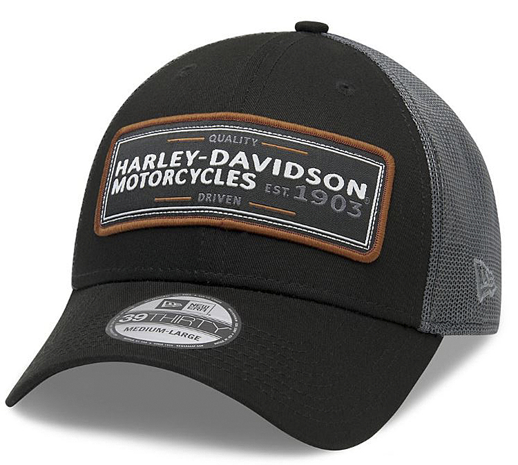 Harley-Davidson® Men's Flying Eagle 39THIRTY® Baseball Cap | New Era® | Mesh Back