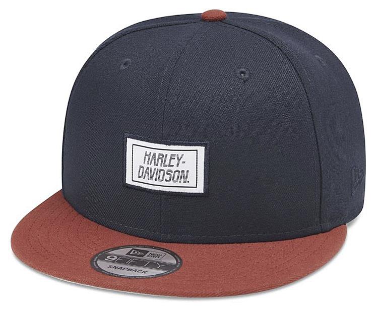Harley-Davidson® Men's Contrast Brim 9FIFTY® Baseball Cap | New Era® | One Size Fits Most